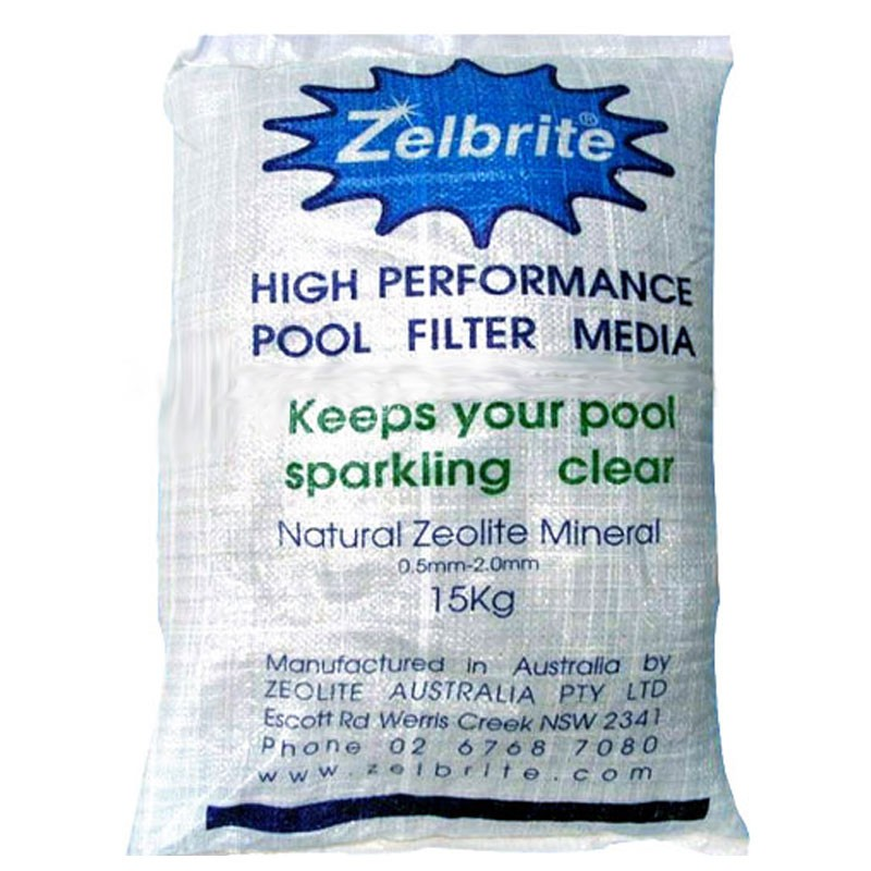 Zelbrite mineral media for sand filters - Diatomite filter media for swimming pools ...